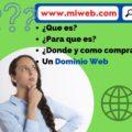 Que es un dominio web, donde comprar