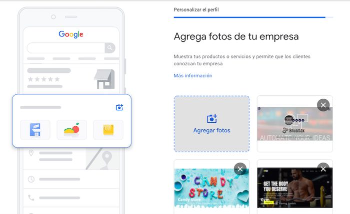 Agrega fotos de tu empresa en Google Maps