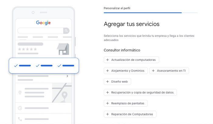 Agrega tus servicios en Google Maps