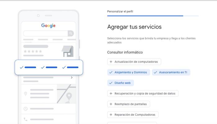 Agrega a tus servicios en Google Maps
