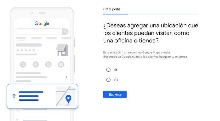 Da de alta tu empresa en Google