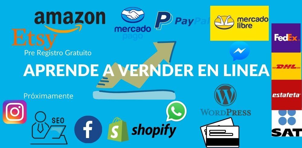 Pre registro - Aprende a vender en línea