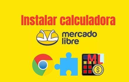Instala calculadora mercadolibre